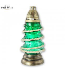 CH46 - occasional Christmas tree grave light with paraffin refill
